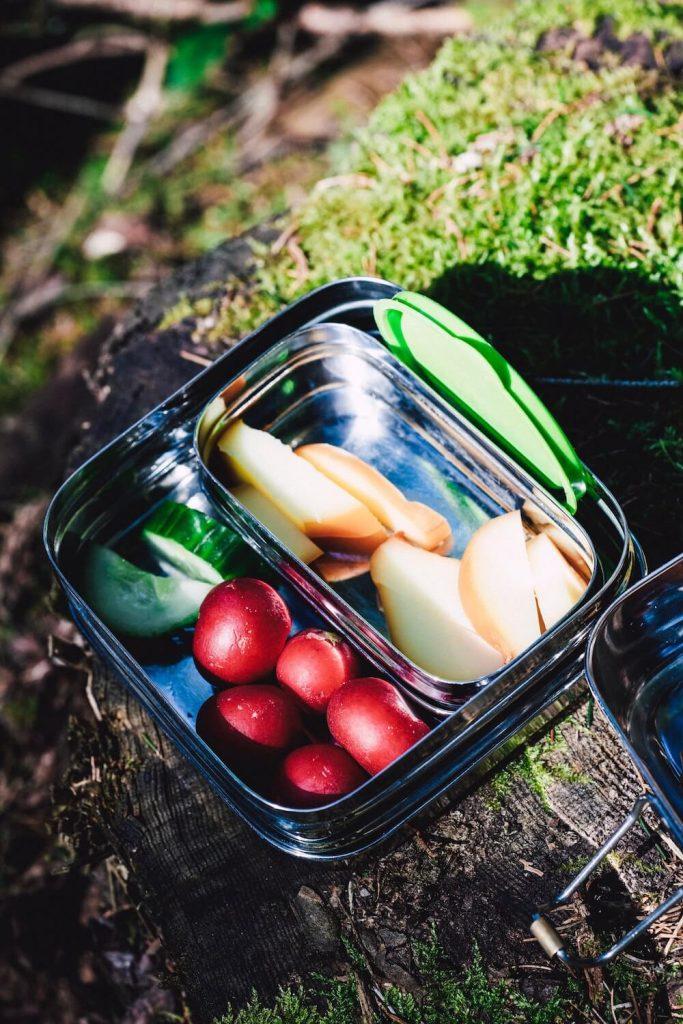 Contenant alimentaire zéro déchet