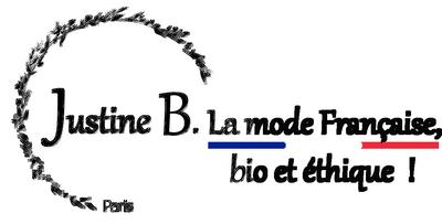 Code promo Justine B., marque de vêtements made in France, bio et éhiques