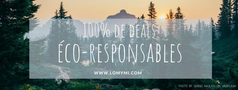 Lomymi - 100% de codes promo éco-responsables